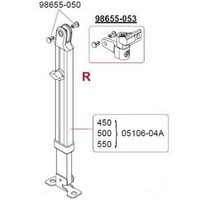 Fiamma F45Il Right Hand Leg 4.5-6M 05106-04A