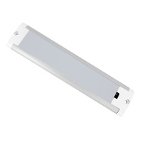 LED Swipe Sensor Cabinet Bar Light 220mm White/Silver