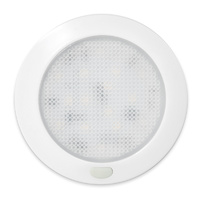 LED Ultra Slim Opal Panel Light W/ Memory switch 76mm Cool white