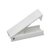 Baggage Door Catch Holder - White (Pair)