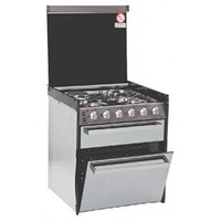 Smev 400 4 Burner, Grill And Oven (3 Gas / 1 Electric)