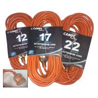 Camec Plus2 17M 15A Extension Lead For RV Use