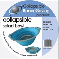 Collapsible Silicone Salad Bowl