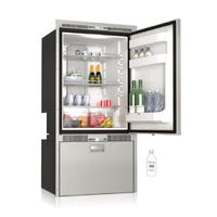 Vitrifrigo DW250RFX Fridge / Freezer with Steelock 12V / 24V / 240V