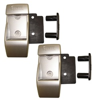 Fiamma Aluminium Wall Brackets 98655-728 Fix Legs To Side Wall Awning