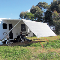 Coast Front Sunscreen to Suit 10 foot Rollout Awning
