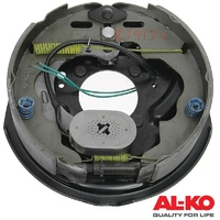 "ALKO 10"" Brake Assembly Plate Electric 250mm x 56mm Right With Park RH"