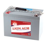 Lion 12V 120AH AGM Deep Cycle Battery