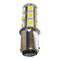 LED BA15D Replacement 18 Chips - Single 49mm