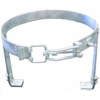 Gas Cyl Cradle 9kg W Adj Clasp Galvanised Plated