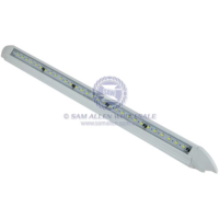 45 Degree LED Alloy Awning White 12V 30x5630 SMD 582mm