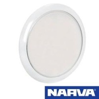 Narva 87504 - 180mm Round Interior LED Light with Touch Sensitive Switch