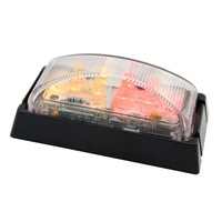AP51MRAB LED Side Marker Red/Amber Black Base