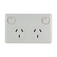 Connected' Double Power Outlet  Double Pole