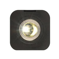 Conxus Flushmount 1-Din (Merit/Waeco) Black With LED
