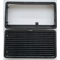 Dometic LS300 Vent (Frame & Grill) Black