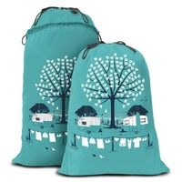 Van Go Collections Expandable Laundry Bag - Summer Teal